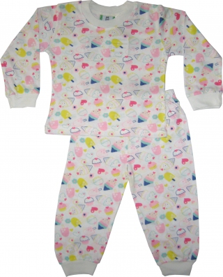 BOBDOG - Toddler Girl Pyjamas - DB-PJ3913