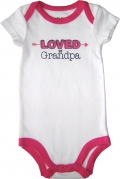 Luvable Friends Baby Romper - JD-RP60487-W