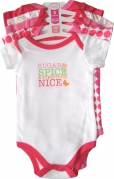 Luvable Friends - 5 Baby Rompers Pack - JD-RP30815