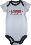 Luvable Friends Baby Romper - JD-RP60474-B