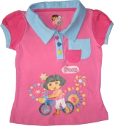Dora The Explorer - Girl T Shirt - TS1107-I