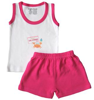 Luvable Friends - Baby Girl suit - JD-SU37800-I