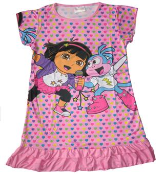 Dora The Explorer - Girl Pyjamas - PJ8044