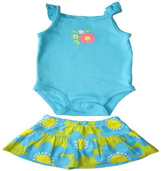 Carter's - Baby Girl Romper Set  - CT35623-B