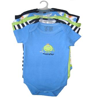 Luvable Friends - 5 Baby Rompers pack - JD-RP30650