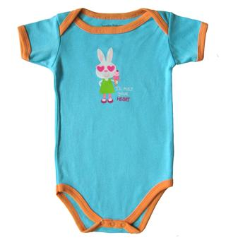 Luvable Friends - Baby Romper - JD-RP60405-B