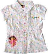 Dora The Explorer - Girl Short Sleeve Top - TS1172