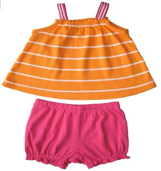 Carter's - Baby Girl 2 Pcs Set  - CT356234-1