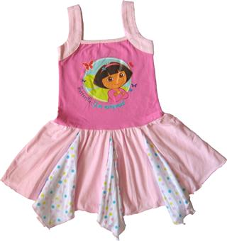 Dora The Explorer - Girl Dress - DR1177